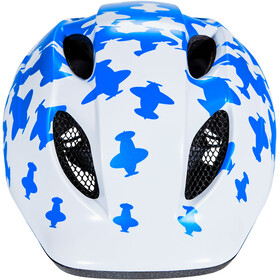 MET Superbuddy Helmet Barn white/blue airplanes